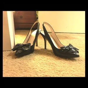 Nine West slingback heels